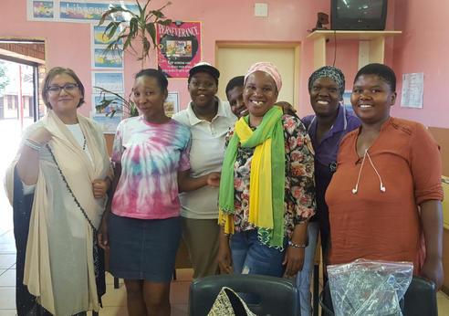 Rayana Edwards and unemployed moms in skills training