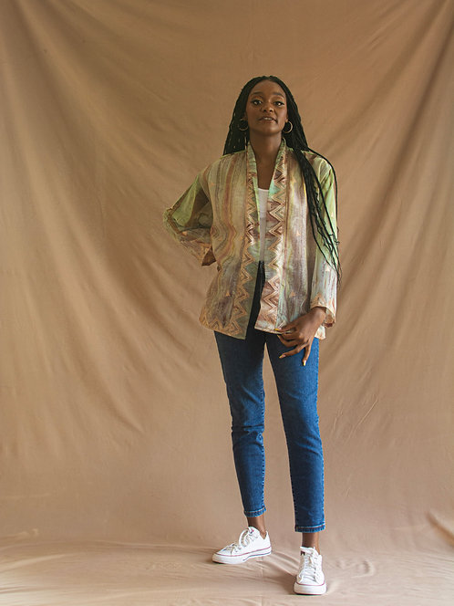 Short Jacket Kimono