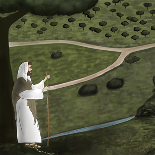 Illustration of a story of the Druze people