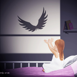"""Illustration for the """"Wings"""" exhibition 2021"""