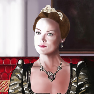 illustration of queen elizabet- reign