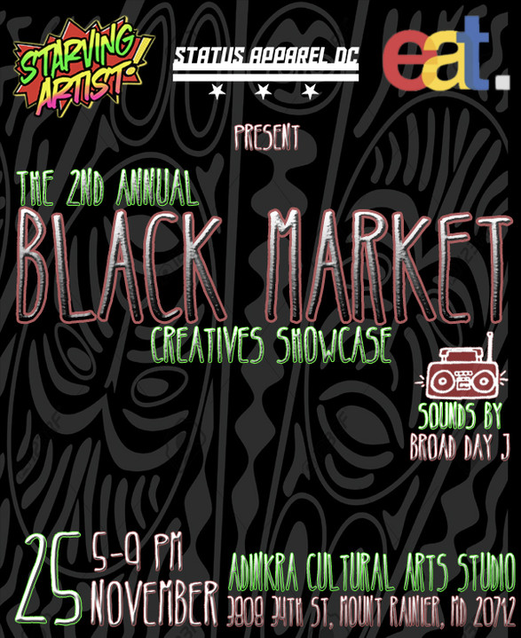 The Second Annual Black Market Creatives Showcase