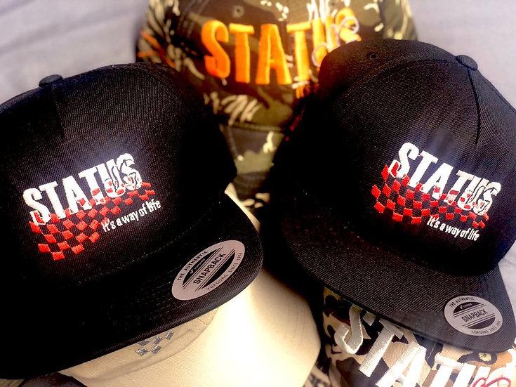 """Status Racing Stripe"" Snapback"
