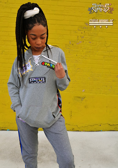 """""""Way of Life""""  Sport Lace Patch Hoodie (PSII)"""