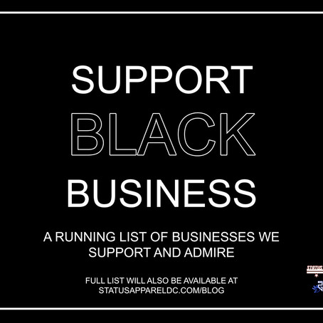 Black Businesses we love and support!