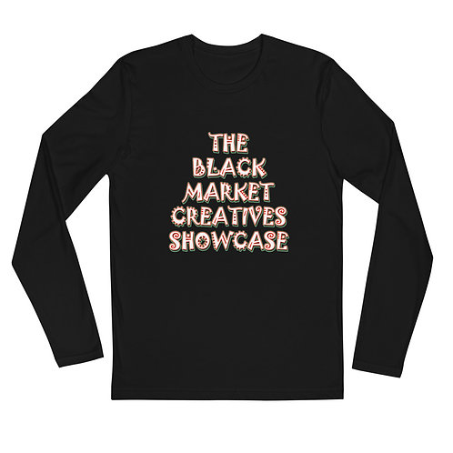 """""""Black Market Creatives Showcase"""" Fitted Crew"""