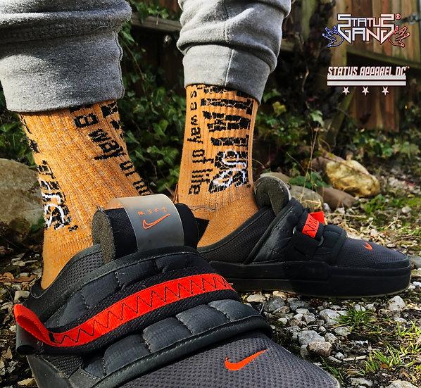 """Marled """"Mamba Black"""" Socks"""