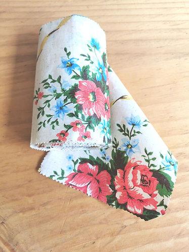 """7"""" / 17 cm vintage floral"""