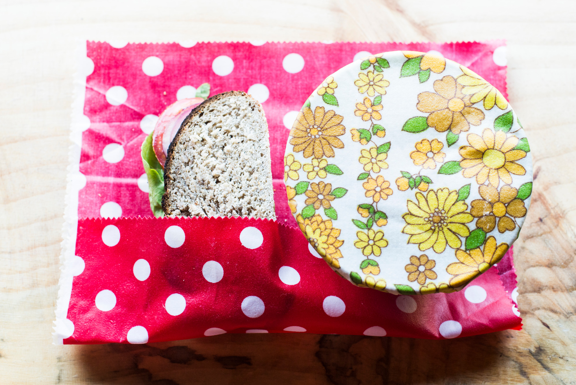 BeeKeep reusable beeswax food wraps : DIY