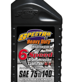 spectro heavy duty platinum 6 speed SAE