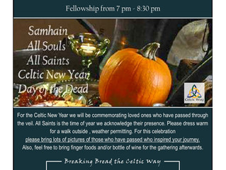 Celebrating the Celtic New Year: This Saturday