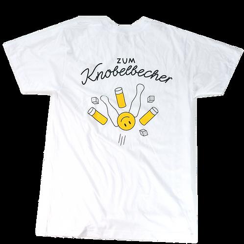 Kölsch Peace Shirt mit BACKPRINT - weiß