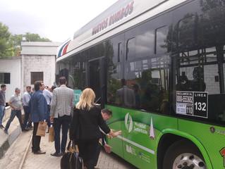 FETAP PRESENTO EN  LA EMPRESA CONIFERAL SACIF EL PRIMER BUS 100% GNC  DE LA EMPRESA SCANIA