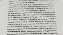 AUDIENCIA CON LA ENTIDAD SINDICAL AOITA  EN EL DÍA DE AYER 11 DE MAYO