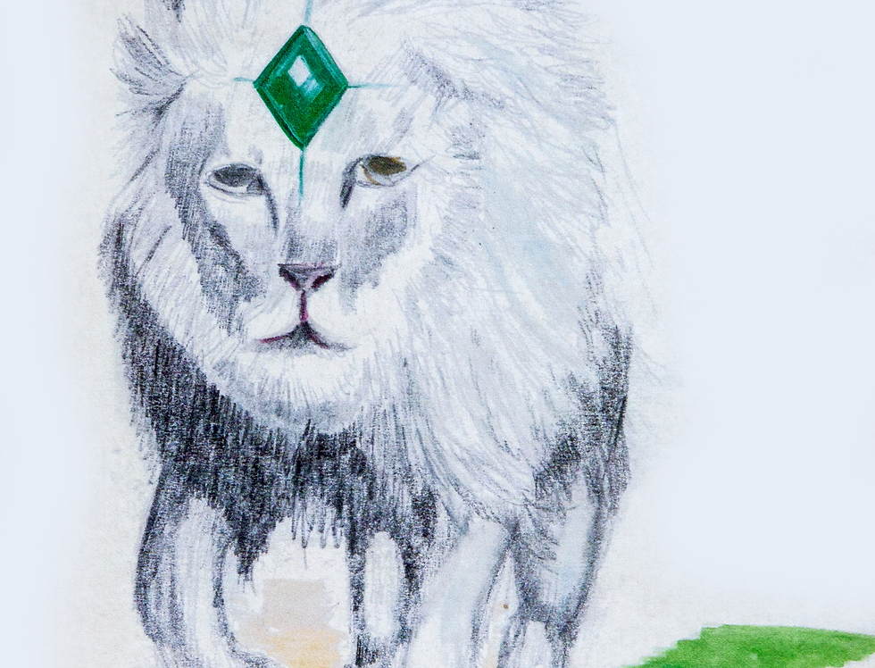 Green Diamond Lion