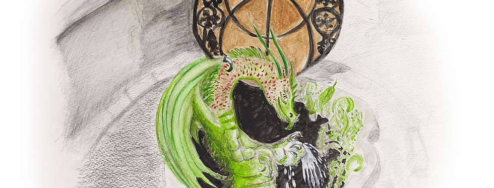 The Green Healing Dragon