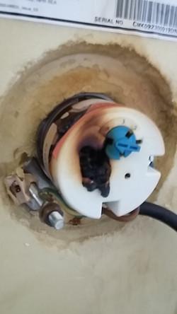 Immersion heater element