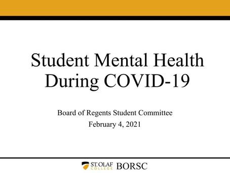 BORSC Interim 2021 Presentation: Mental Health