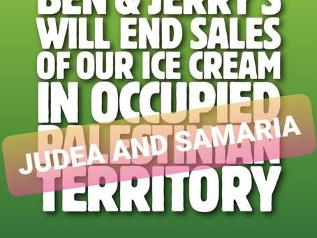 Can Ice Cream Be Anti-Israel?