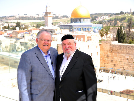 The Rabbi Behind Christians United for Israel
