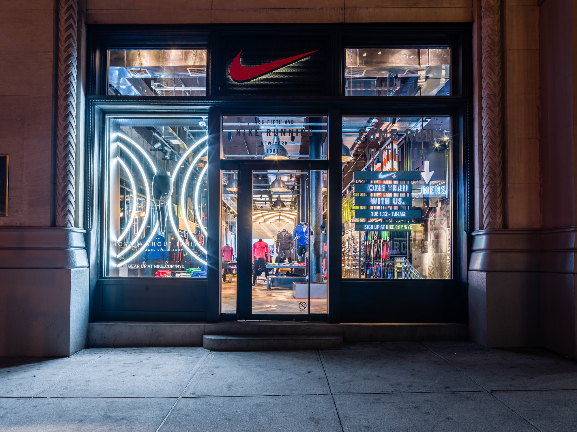Nike Tights Flatiron Window
