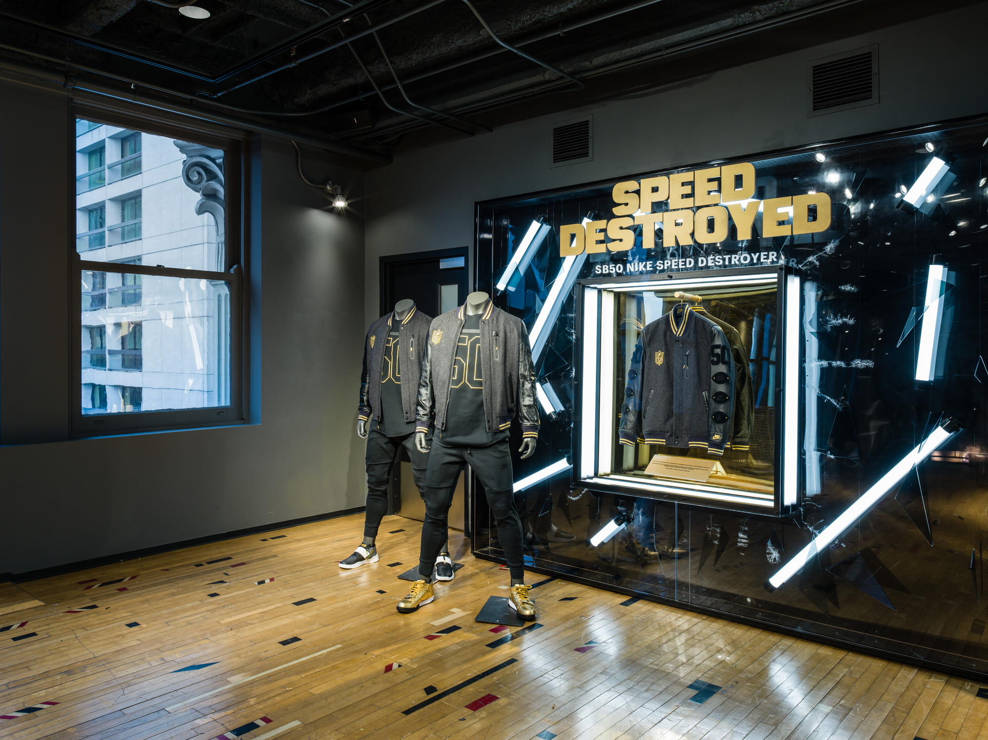 Speed Destroyer Jacket Glorifier