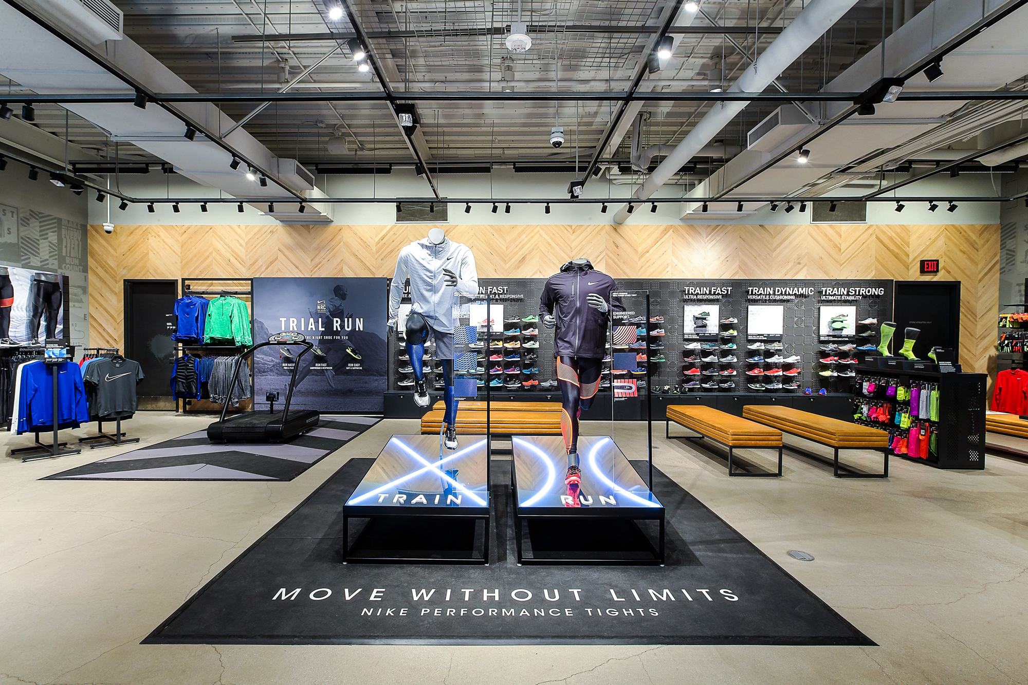 Nike Tights Initiative Category Zone