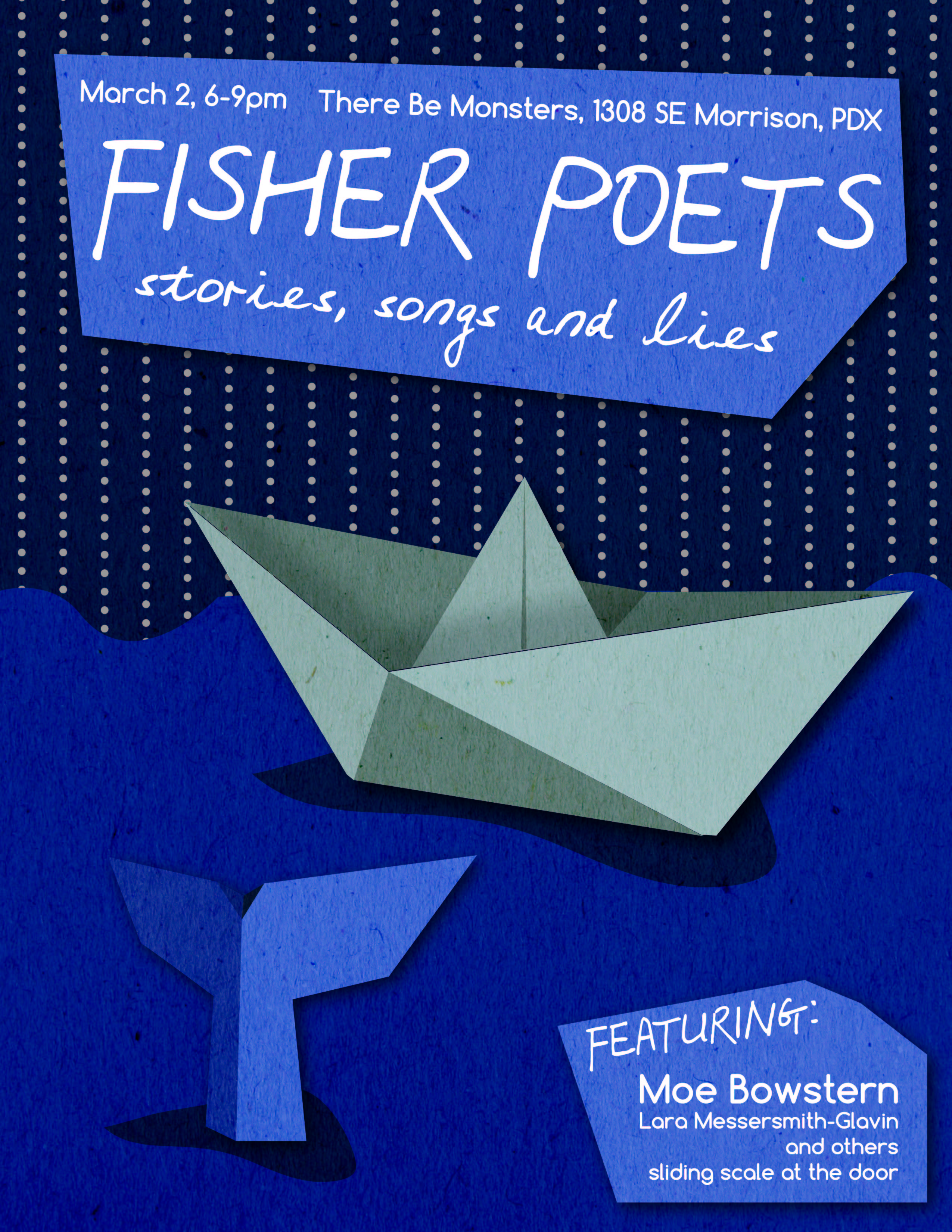 Kat Enyeart Poster for Fisher Poets