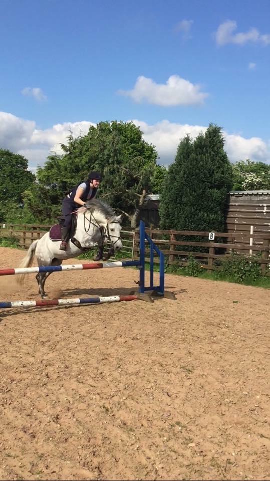 First 80cm jump