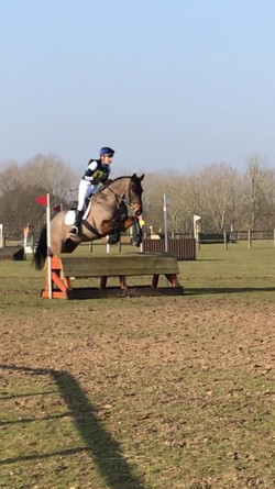 First ODE Arena Event 80cm  - Paula and Billy