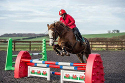 First time jumping 75cm