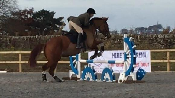 First show jumping outing