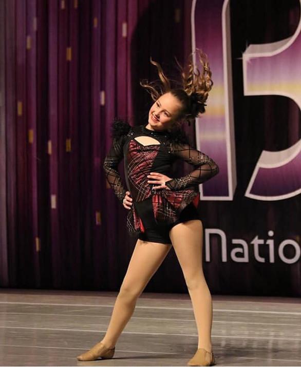 Intermediate Company Dancer, Ady, workin' those judges! 2019