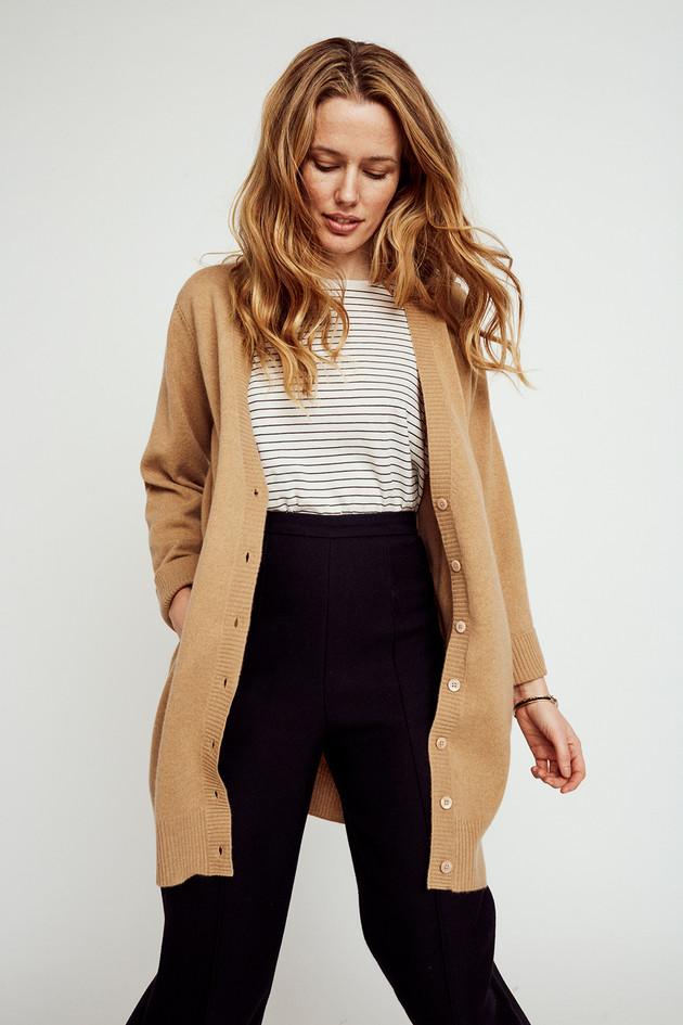 Basic long cardigan