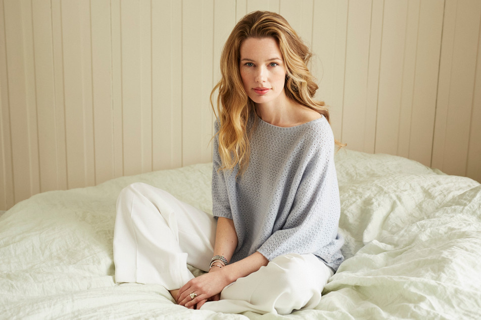 Siena lace sweater