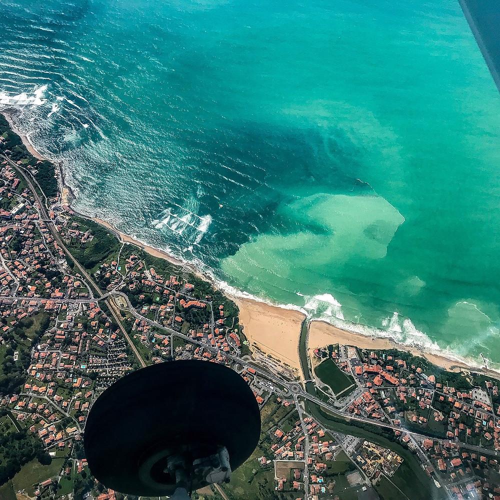 Tracing the coast to Barcelona