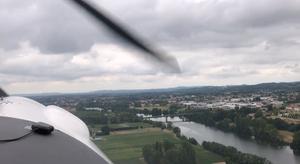 Take off Villeneuve Sur Lot