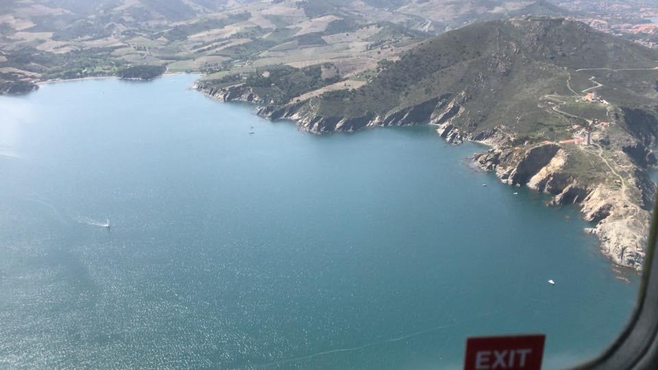 Crossing FIR into Spain