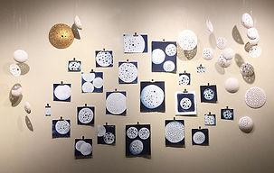 Sun + Earth / Moon (installation shot)