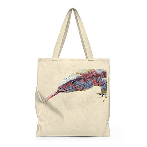 Polar Purple Tegu Lizard Shoulder Tote Bag For Sale, Lizard, Tegu, , Tegu World
