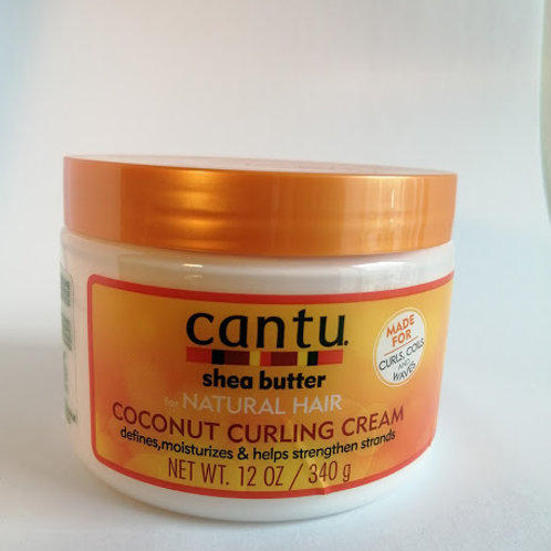 Cantu Coconut Curling Cream - 340 g (net wt. 12 oz.)