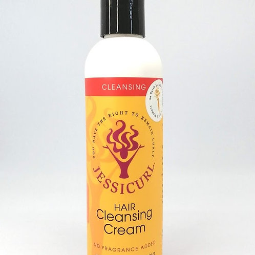 Jessicurl Hair Cleansing Cream - No fragrance - 235 ml (8 oz.)
