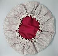 Satin bonnet, medium size.