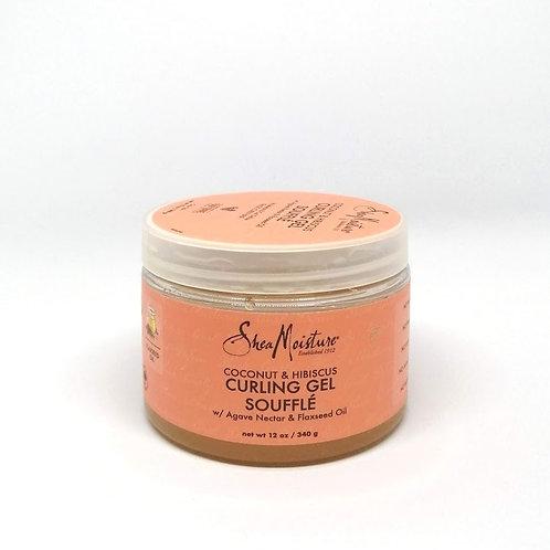Shea Moisture - Coconut & Hibiscus Curling Gel Soufflé - 340 g (net wt 12 oz.)