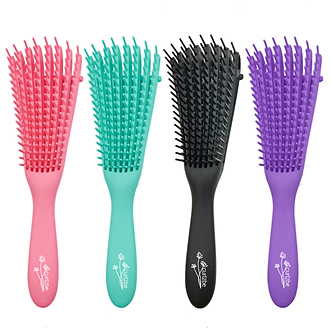 Detangler brush. It can be found in four different colours.