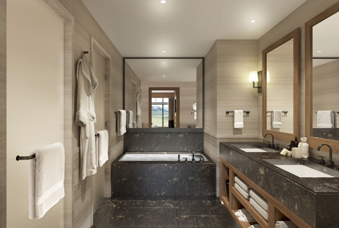 Guest Bathroom Rendering