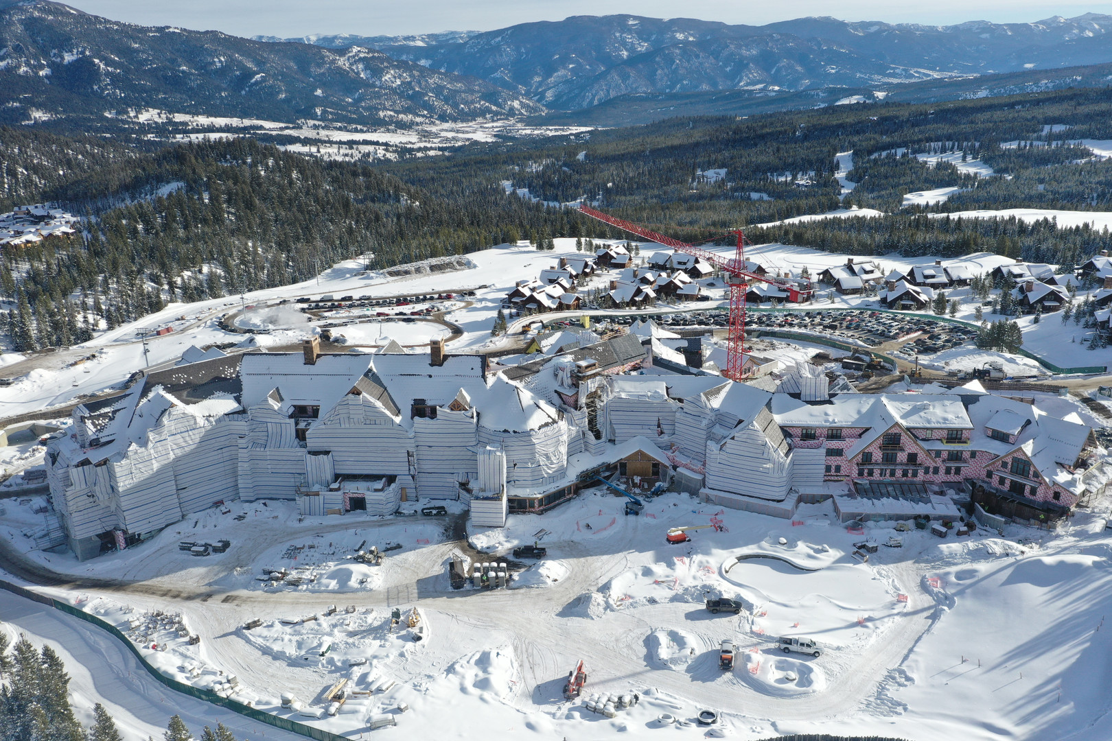 West Side Ski Aerial