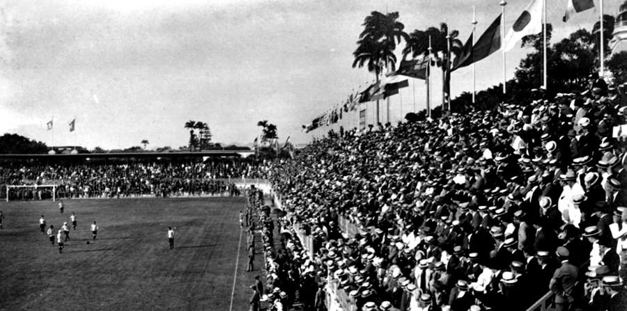 Estádio das Laranjeiras foi construído para sediar o torneio, com 18 mil expectadores. Mas cerca de 28 mil assistiram à final