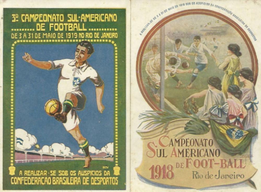A terceira edição do Sul-americano estava marcada para 1918, mas a epidemia da 'gripe espanhola' forçou o adiamento para o ano seguinte