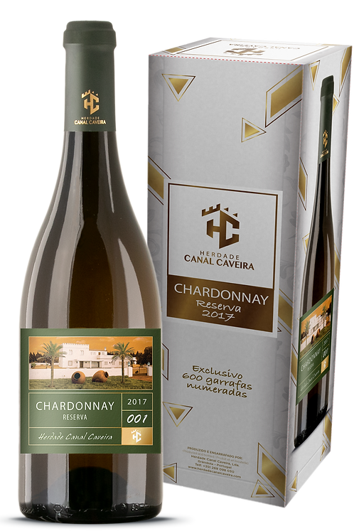 Chardonnay Reserva 2017 - Herdade Canal Caveira